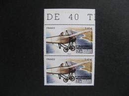 TB Paire Verticale PA N° 77b, Dentelé 13 X 13,5 Tenant à Dentelé 13 X 12,5, Neuf XX. - 1960-.... Mint/hinged