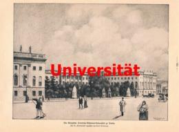 395 Berlin Universität 100 Jahre Artikel Mit 5 Bildern 1910 !! - Unclassified