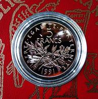 5 Francs SEMEUSE De 1991 En BE... - France