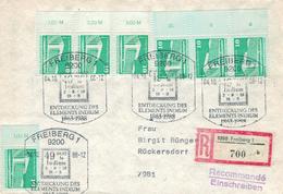 9200 Freiberg - Entdeckung Des Elements Indium 1988 - R-Brief - Chemistry
