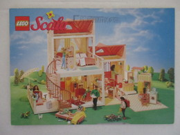 RARE CARTE POSTALE CPM CPSM CP JEU LEGO SCALA PUBLICITÉ - MAISON - TRÈS BON ETAT - Juegos Y Juguetes