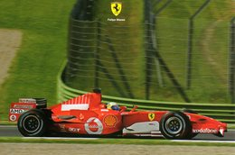 MOTOR RACING - AUTOMOBILISMO - CARTOLINA UFFICIALE FERRARI - FELIPE MASSA - N 593 - Grand Prix / F1