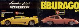 Catalogue Bburago 1992  1:18 1:24 Kits 1:18  1:24  - En Italien - Catalogues & Prospectus