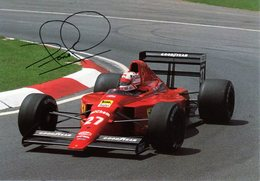 MOTOR RACING - AUTOMOBILISMO - CARTOLINA UFFICIALE FERRARI - NIGEL MANSELL - N 598 - Grand Prix / F1