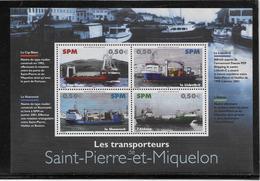 Saint Pierre Et Miquelon Bloc N°10 - Neuf ** Sans Charnière - TB - Blocks & Kleinbögen