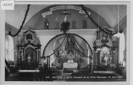 Matran - L'Eglise - Souvenir De La Visit Pastorale 10. Avril 1932 - FR Fribourg