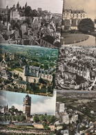 37 - Lot De 16 Cartes Postales Semi Modernes Du Chateau De Loches - Loches