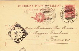 C.P. Vittorio Emanuele III°  Mill. 03 AMB. Verona - Legnago - Rovigo  ( 1 ) X Ferrara - 1900-44 Victor Emmanuel III