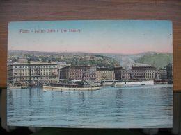 Croatia Fiume Rijeka Hafen Schiffe 1907. Stengel & Co. - Croazia