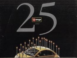 Catalogue Bburago 1999 25° Gold Collection 1:18 Bijoux Collection 1:24  - En Italien - Catalogues & Prospectus