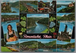 Rhein - Mehrbildkarte 8   Romantischer Rhein - Unclassified