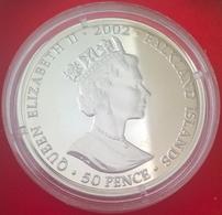 50 Pence 2002, KM20.1, UNC - Falkland