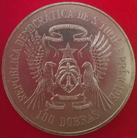 100 Dobras 1985, KM42, UNC - Santo Tomé Y Príncipe