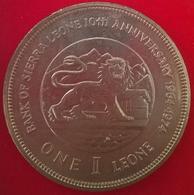 1 Leone 1974, KM26, UNC - Sierra Leone