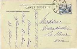 CPA Anse Vieux Château Fort Affranchie YT 165 - France