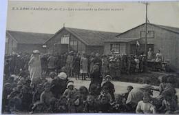 CPA CAMIERS--LES CUISINES DE LA COLONIE SCOLAIRE. - Ardres