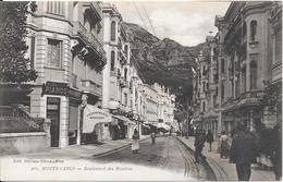 MONTE-CARLO : Boulevard Des Moulins - Monte-Carlo