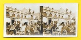 Vues Stéréos Monte Carlo Terrasse Du Café De Paris Monaco - Stereoscopic
