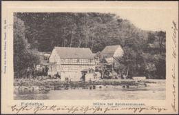 AK Fuldatal Mühle Bei Spiekershausen, Gelaufen 1904 - Deutschland