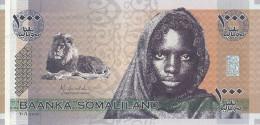 SOMALILAND 1000 SHILLINGS 2006 UNC P CS1 - Somalie