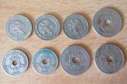 Belgique - 8 Monnaies 5 Et 10 Centimes - 1862 à 1920 - Collections