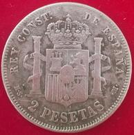 2 Pesetas 1882 MS, KM678.2, TB+ - [ 1] …-1931 : Royaume