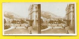 Vues Stéréos Monte Carlo Le Casino Monaco - Stereoscopic