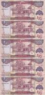 SOMALILAND 1000 SHILLINGS 2015 UNC P 20 ( 5 Billets ) - Somalie