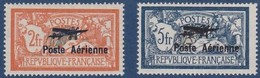 POSTE AÉRIENNE N°_1 Et 2 NEUF* - 1927-1959 Nuevos