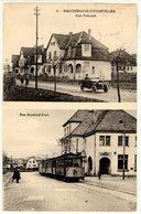 Hagondange  Unionviller - Rue Poincaré Et Rue Maréchal Foch - Tramway 1923 - Hagondange