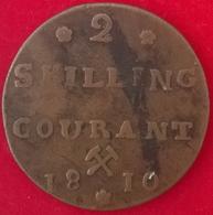 2 Skilling 1810, KM280, TB+ - Norvège