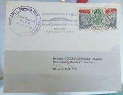 ENVELOTTES TIMBREE  OBLITEREE - 1961-....