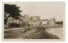 PHOTO ANCIENNE BRETAGNE BRETON Carnac Quiberon ? Maison Habitat Architecture Balnéaire Plage Lieu à Identifier 1930 1950 - Lieux