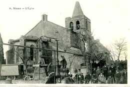 SIRAN =  L'église  ALAMBIC ???? POMPE ???    1472 - France