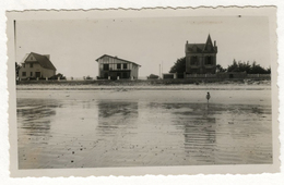 PHOTO ANCIENNE BRETAGNE BRETON Carnac Quiberon ? Maison Habitat Balnéaire Architecture Plage Lieu à Identifier 1930 1950 - Lieux