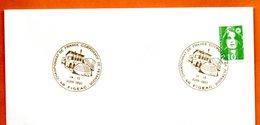 46 FIGEAC  PETANQUE  1991 Lettre Entière N° PQ 289 - Marcofilie (Brieven)