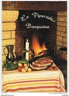 CPM..RECETTE CUISINE..PIPERADE..RECETTE AU DOS DE LA CARTE.. - Recettes (cuisine)