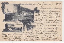 Davos-Frauenkirch - Restaurant Und Postbureau - 1904    (P-232-90921) - GR Grisons