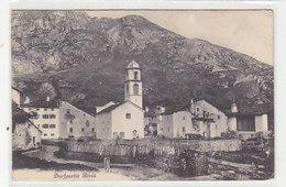 Bivio - Dorfpartie - 1917    (P-232-90921) - GR Grisons
