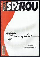 """SPIROU N° 3067 -  Année 1997 - Couverture """"Décès FRANQUIN"""". - Spirou Magazine"""