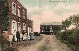 Bois-de-villers Rue De L'eglise Carte Colorisée Animée Circulé En 1910 - Profondeville