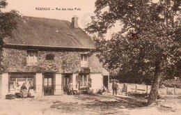 Assenois Rue Des Vieux Puits Animée N'a Pas Circulé - Vaux-sur-Sûre