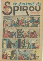 Le Journal De SPIROU - 6ème Année N° 21 - 27 Mai 1943 - Jijé - Sirius - Rob Vel - F;Dineur - BON ETAT - Spirou Magazine