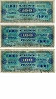 BILLET 100 FRANCS -FRANCE / 2 EMISSION IMPRESSION AMERICAINES, - 1871-1952 Antichi Franchi Circolanti Nel XX Secolo