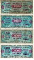 BILLET 50 FRANCS -FRANCE / 2 EMISSION IMPRESSION AMERICAINES, 1945 - 1871-1952 Gedurende De XXste In Omloop