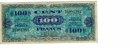 BILLET 100 FRANCS -FRANCE / 2 EMISSION IMPRESSION AMERICAINES, 1944, TB - 1871-1952 Gedurende De XXste In Omloop
