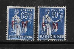 FM N°8 Et 9 Neuf ** - Franchise Militaire (timbres)
