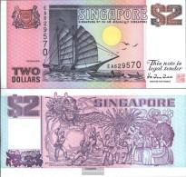 Singapore Pick-number: 37 Uncirculated 1998 2 Dollars - Singapore