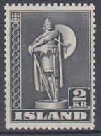 +Iceland 1947. Viking Statue Perf.: 11½. AFA 215B. Michel 214B. MNH(**) - Nuevos