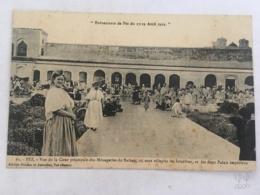 CPA MAROC - FEZ (FES) - Evenements De Fez Du 17-19 Avril 1912 - 61 - Vue De La Cour Principale Des Ménageries Du Sultan - Fez (Fès)